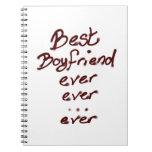 Best boyfriend ever notebooks