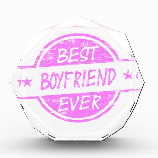 Best Boyfriend Ever Pink Award