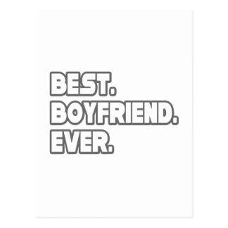Best Boyfriend Ever Postcard