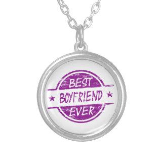 Best Boyfriend Ever Purple Pendants