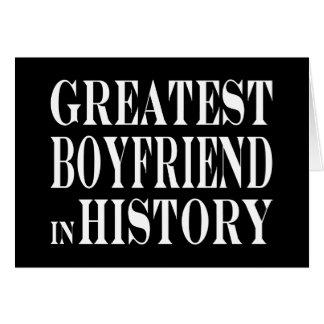Best Boyfriends : Greatest Boyfriend in History Card