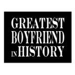 Best Boyfriends : Greatest Boyfriend in History Postcard