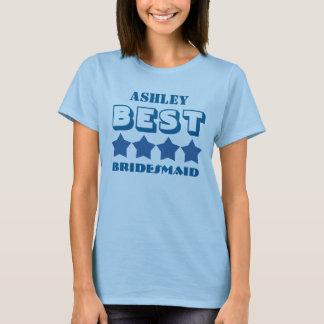 Best BRIDESMAID Wedding Party Favor A04 BLUE T-Shirt