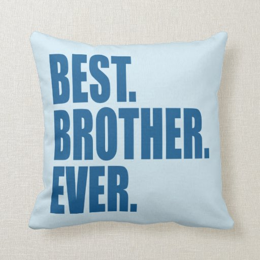 best pillow ever best blue throw pillow zazzle 31585
