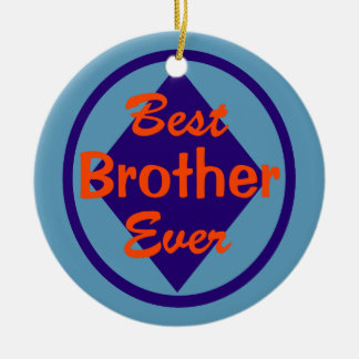 Best Brother Ever Personalized Photo Ornament