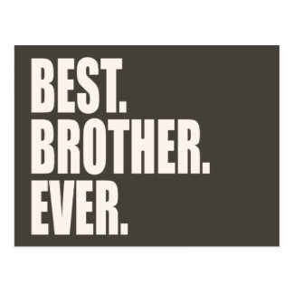 Best. Brother. Ever. Postcard