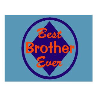 Best Brother Ever Postcard