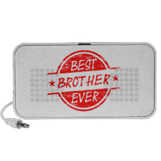 Best Brother Ever Red Notebook Speakers
