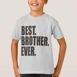 Men's Bella+Canvas Full-Zip Hoodie with Best. Brother. Ever. design