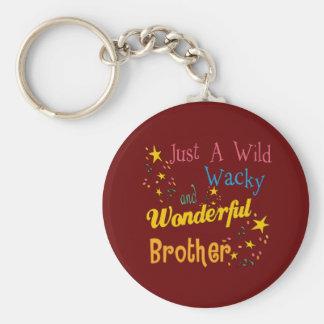 Best Brother Gifts Basic Round Button Keychain