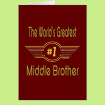 Best Brother Gifts Card