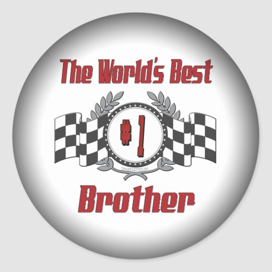 Best Brother Gifts Classic Round Sticker