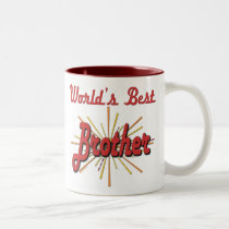 Best Brother Gifts Two-Tone Coffee Mug