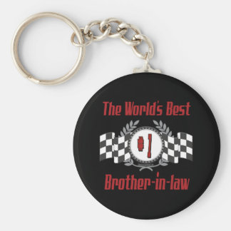 Best Brother-in-law Gifts Basic Round Button Keychain