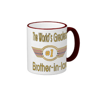Best Brother-in-law Gifts Ringer Coffee Mug