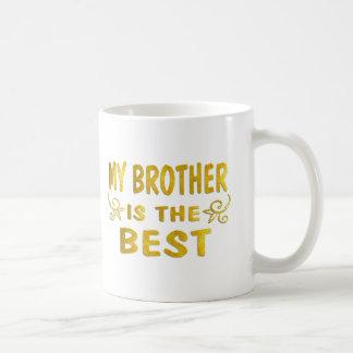Best Brother Classic White Coffee Mug
