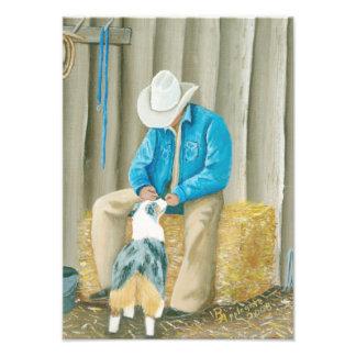 """Best Buddies"" Painting by Barbara A Applegate Photo Print"