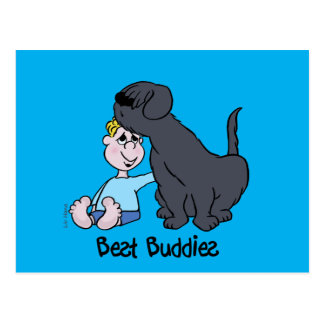 Best Buddies Postcard