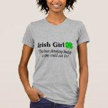 Best Buddy Irish Girl Shirt