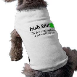 Best Buddy Irish Girl Tee