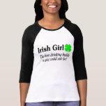 Best Buddy Irish Girl Tshirts