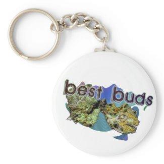 Best Buds Keychain