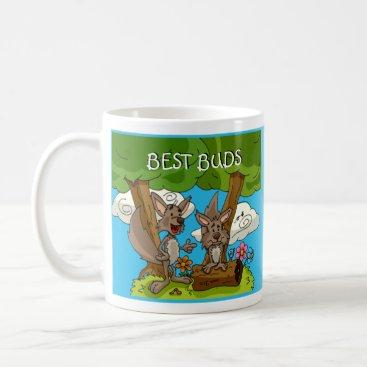 Coffee Themed Best Buds Mug