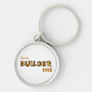 Best Builder Ever Keychain