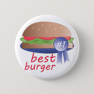 Best Burger Pinback Button