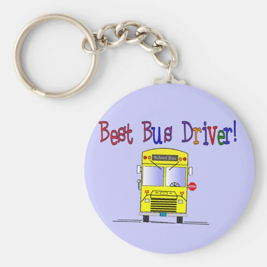 Best Bus Driver Gifts Keychain