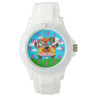 Best Bus Driver Gifts PERSONALIZED Women's Watches