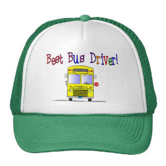 Best Bus Driver Gifts Trucker Hat
