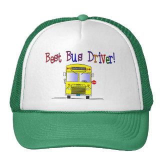 Best Bus Driver Gifts Trucker Hat