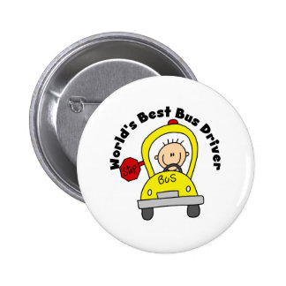 Best Bus Driver Pinback Button