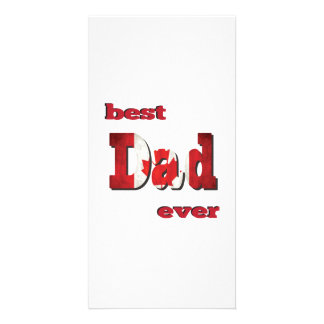 Best Canadian Dad Ever Card