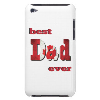 Best Canadian Dad Ever Case-Mate iPod Touch Case