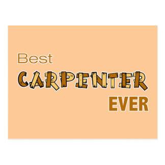 Best Carpenter Ever Postcard