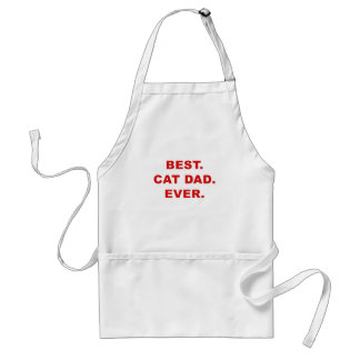 Best Cat Dad Ever Adult Apron