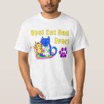 Best Cat Dad Ever Tee Shirts