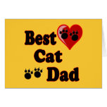Best Cat Dad Gifts for Cat Dads Greeting Card