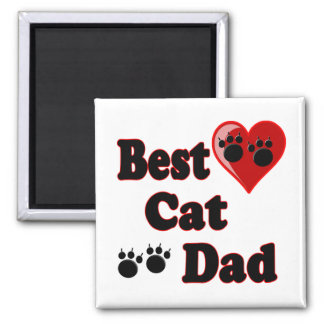 Best Cat Dad Gifts for Cat Dads Magnet