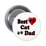 Best Cat Dad Gifts for Cat Dads Pinback Button