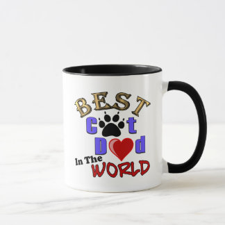 Best Cat Dad In The World for Father's Day Mug
