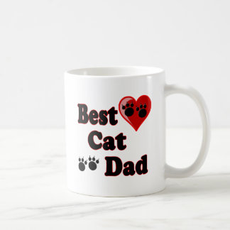 Best Cat Dad Merchandise for Father's Coffee Mug