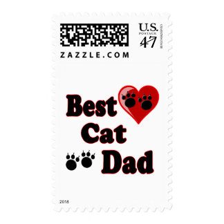 Best Cat Dad Merchandise for Father's Postage