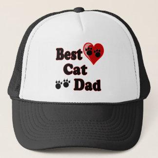 Best Cat Dad Merchandise for Father's Trucker Hat