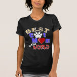 Best Cat Mom In The World Gifts for Mother's Day T-shirt