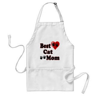 Best Cat Mom Merchandise for Mother's Adult Apron
