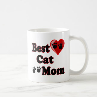 Best Cat Mom Merchandise for Mother's Coffee Mug