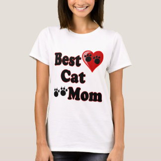 Best Cat Mom Merchandise for Mother's T-Shirt